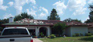 hurricane damage claim