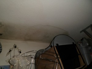 Insurance claim for water damage to ceiling, as public adjusters we can help