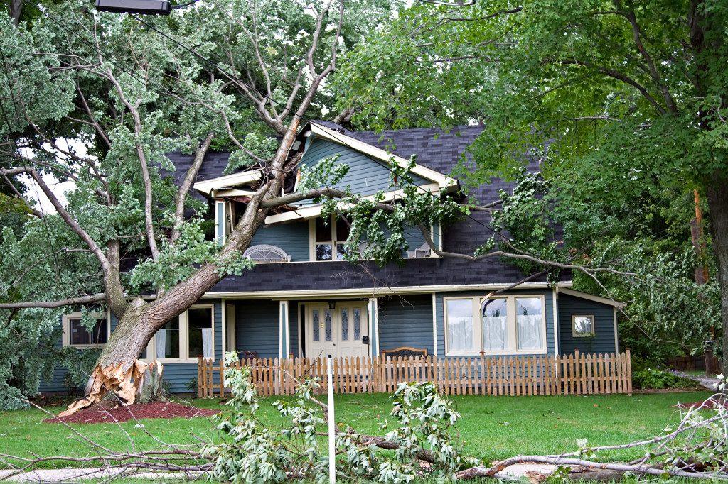 help with a tornado claim