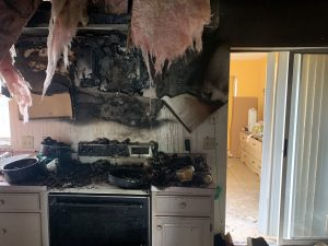 Sarasota County Public Adjuster helps with fire damage claim