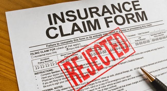 denied insurance claim